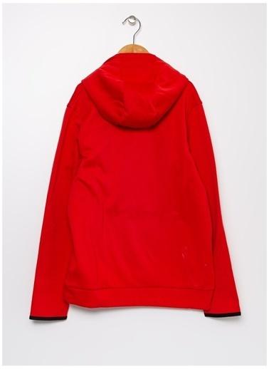 Under Armour Under Armour 1357577-600 Armour Fleece Hoodie Kırmızı Erkek Çocuk Sweatshirt Kırmızı